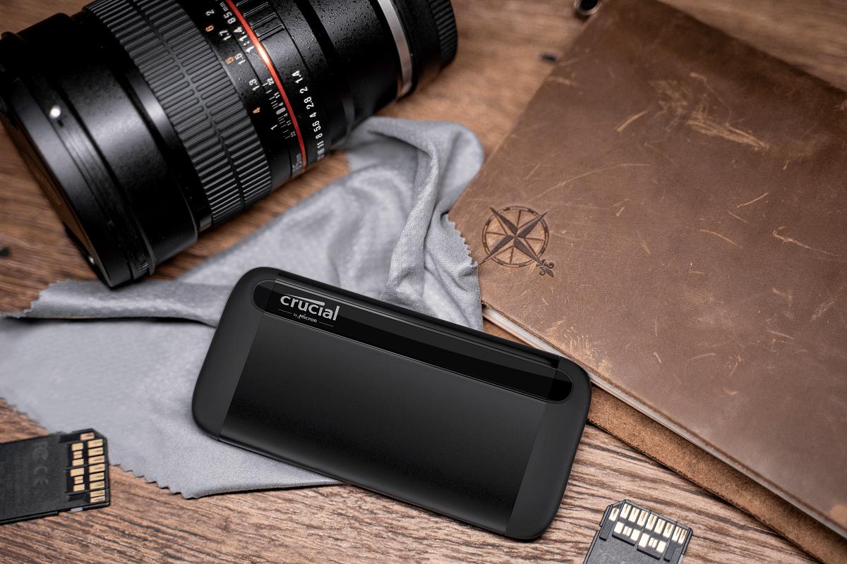 Crucial annuncia l'SSD Crucial X8 portatile