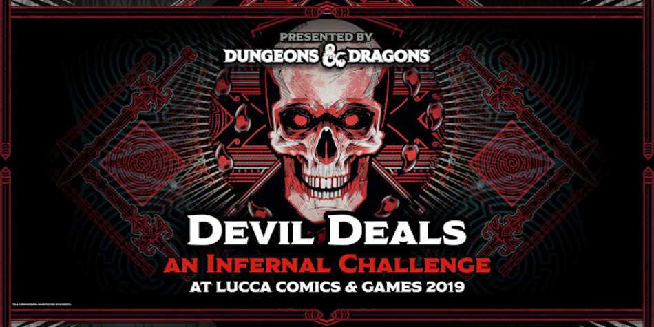 Dungeons & Dragons al Lucca Comics and Games 2019