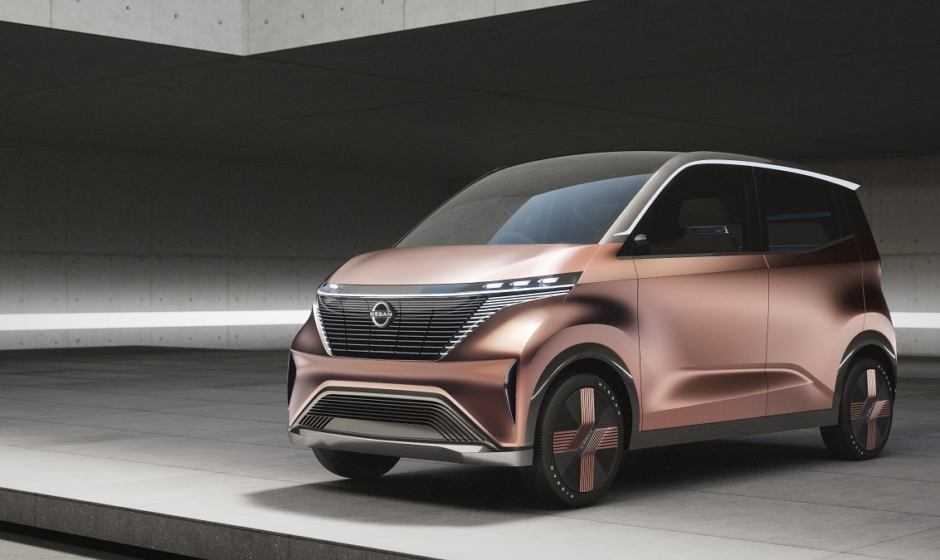 Nissan svela IMk, il concept a zero emissioni