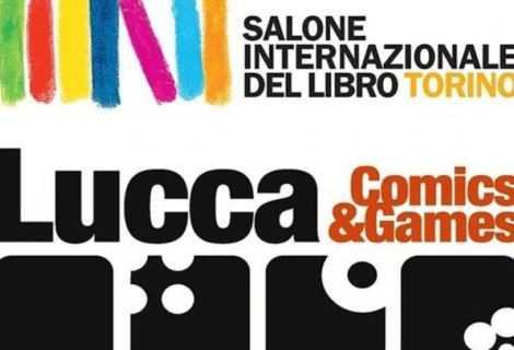 Lucca Comics & Games insieme al Salone del Libro di Torino