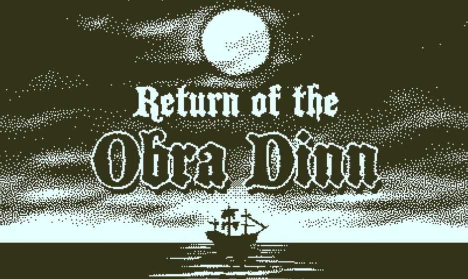 Return of the Obra Dinn: annunciata la data di uscita su console!