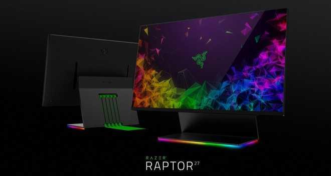 Razer Raptor 27: il primo monitor da gaming di Razer