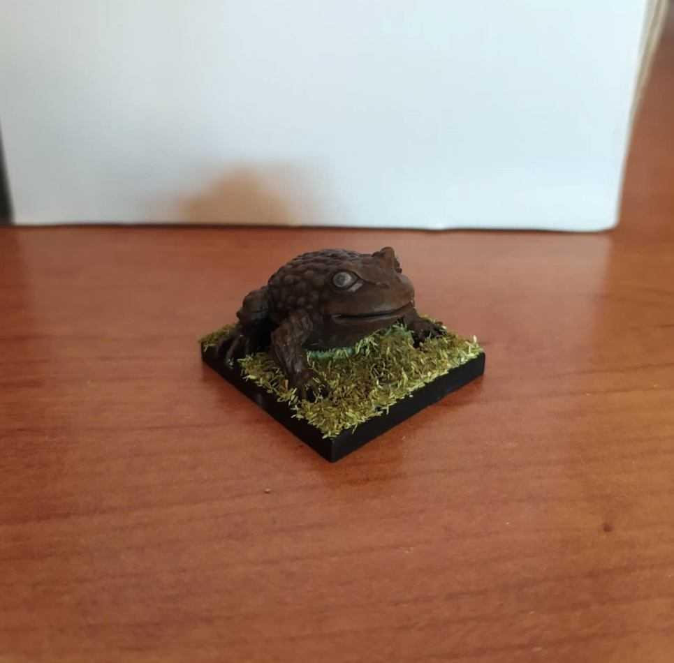 Come dipingere miniature di Talisman: il rospo | Tutorial