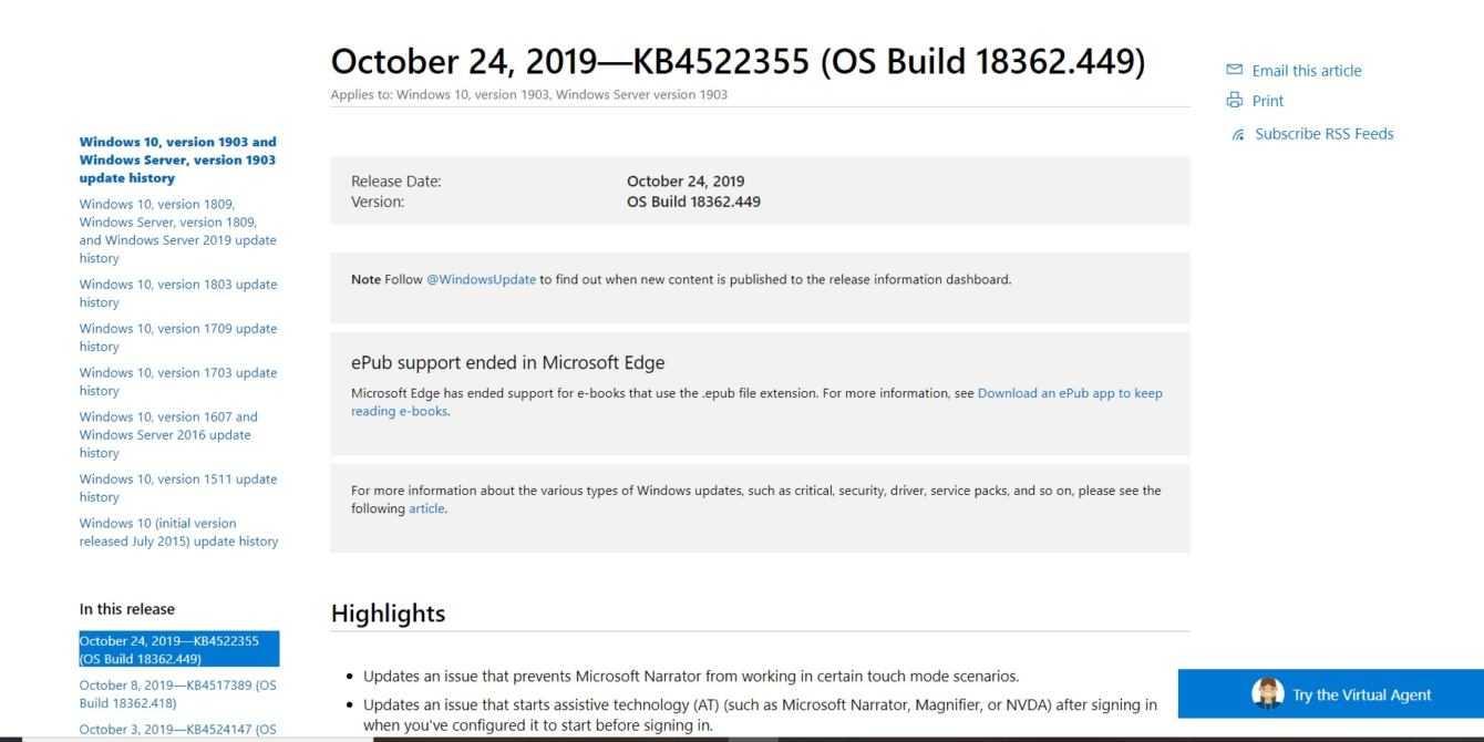 Windows 10: aggiornamento risolve i problemi del menu Start