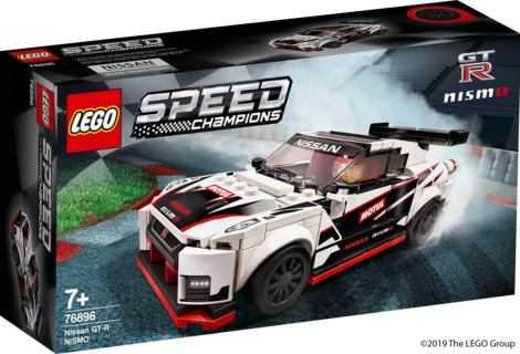LEGO: ecco la versione in mattoncini della Nissan GT-R NISMO