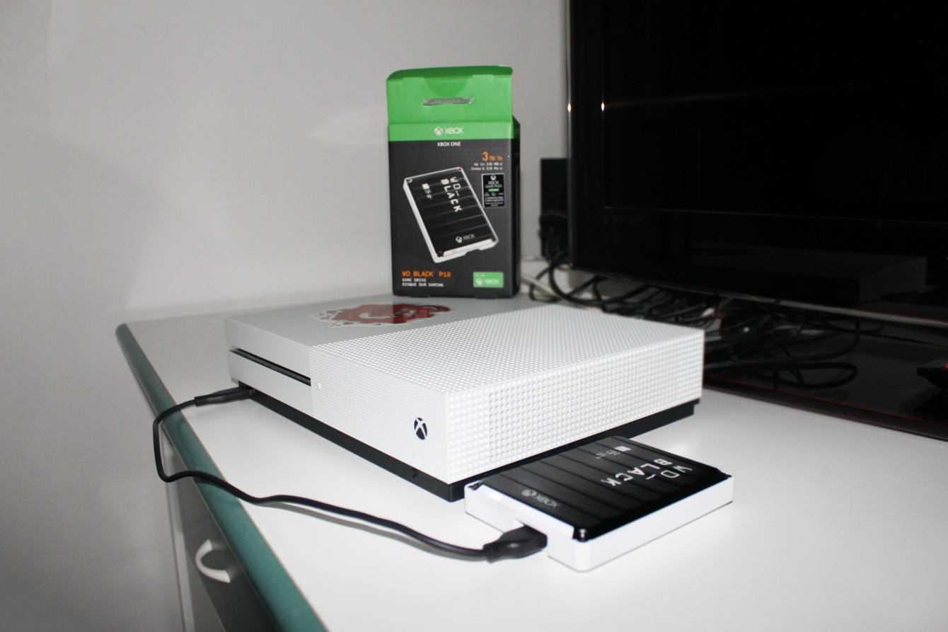 Recensione WD Black P10 Game Drive per Xbox One