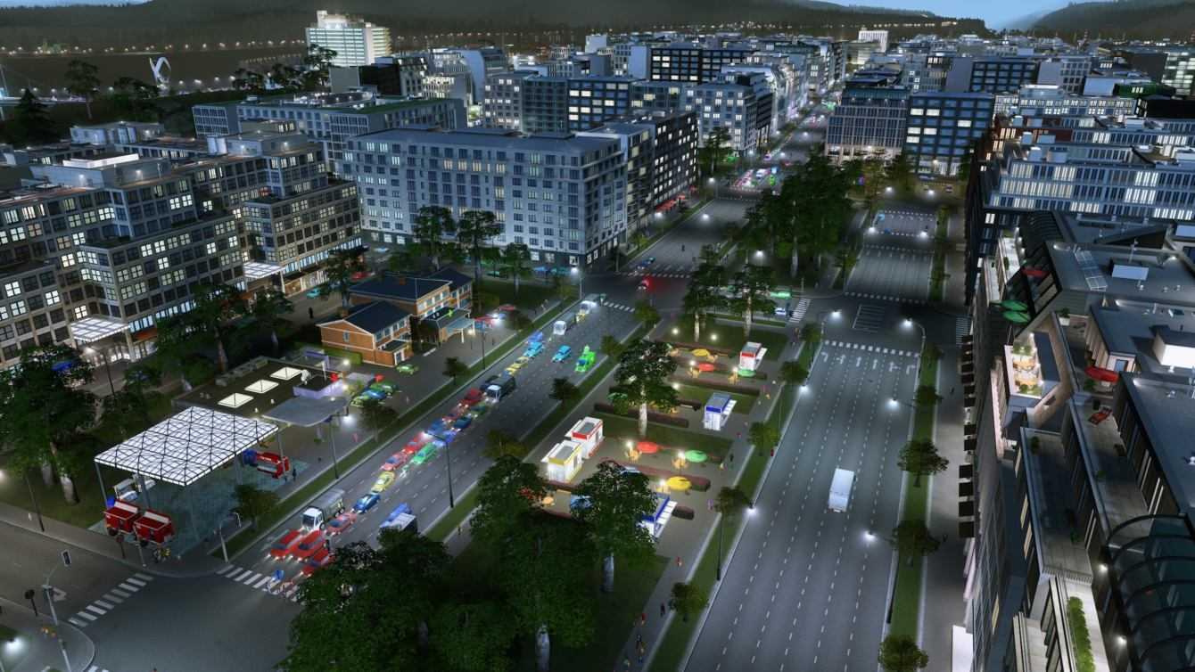 Cities Skylines: ecco Modern City Center e Downtown Radio