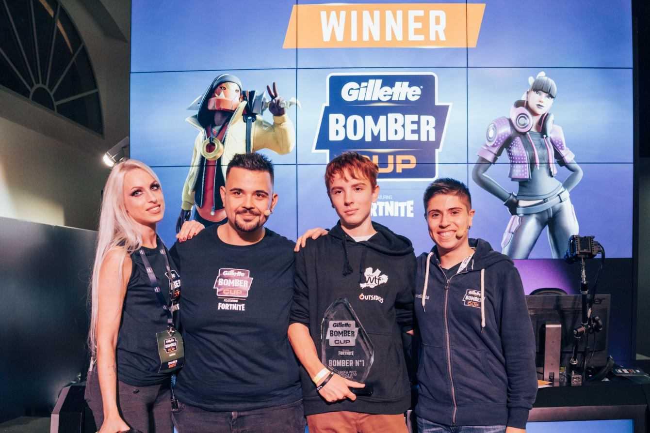 Gillette Bomber Cup ft. Fortnite: ecco il vincitore della seconda stagione