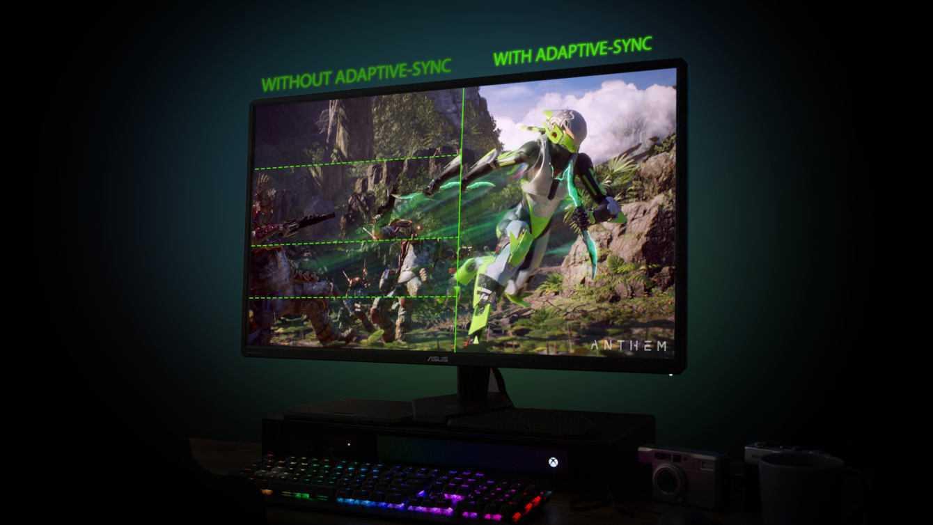 ASUS CG32UQ: ecco il monitor per console!