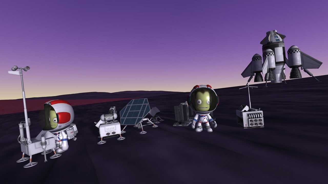 Kerbal Space Program: in arrivo l'espansione Breaking Ground