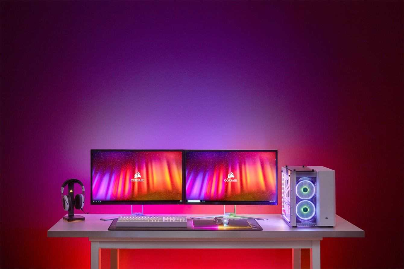 CORSAIR iCUE LS100: nuovo sistema di illuminazione