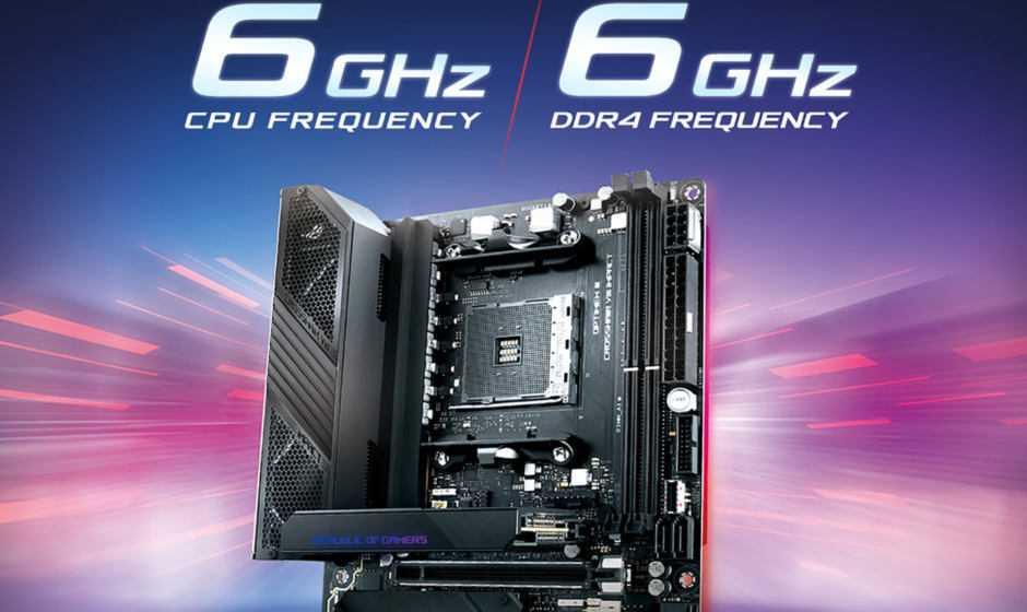ASUS ROG Crosshair VIII Impact: la motherboard dei record