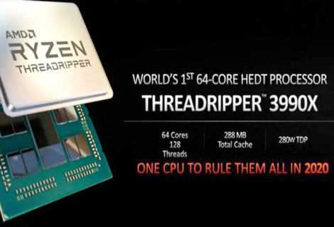 AMD Ryzen Threadripper 3990X: 64 core fisici nel 2020