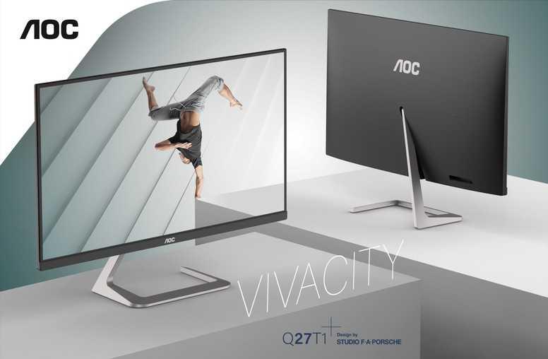 AOC U32U1 e Q27T1: ecco i monitor design by Porsche
