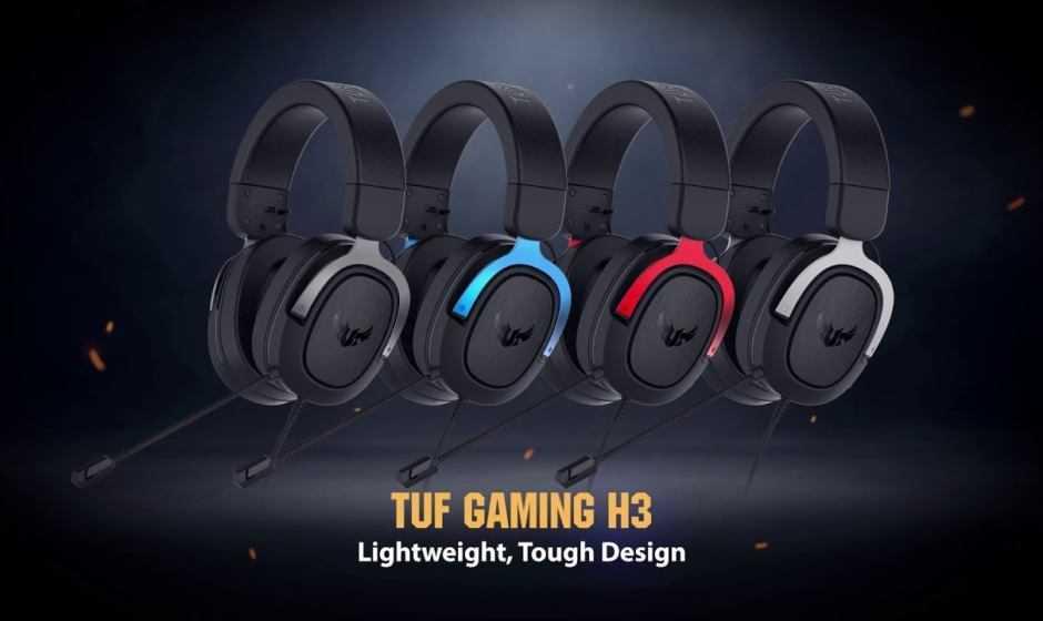 ASUS TUF Gaming H3: arrivano in Italia le nuove cuffie