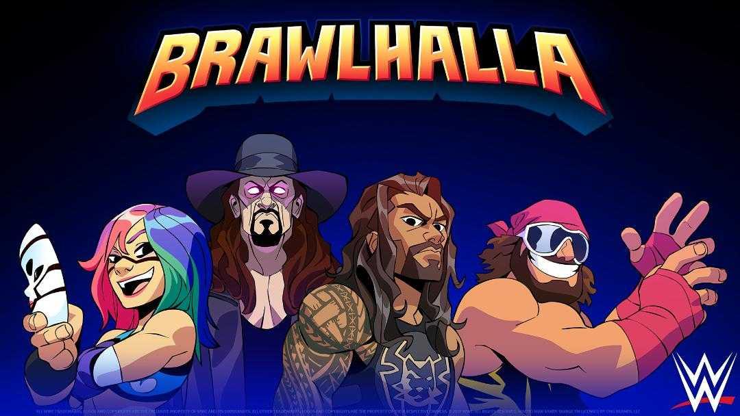 Brawlhalla: nuovi lottatori disponibili con il crossover con WWE