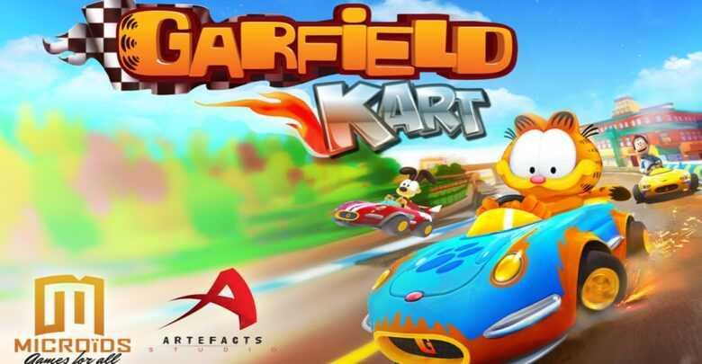 Garfield Kart Furious Racing: oggi il lancio
