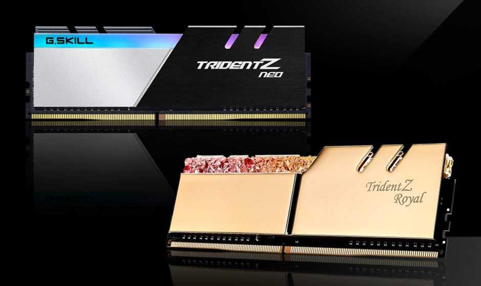 G.SKILL: 32GB di RAM fino a 5 GHz con le nuove CPU Intel