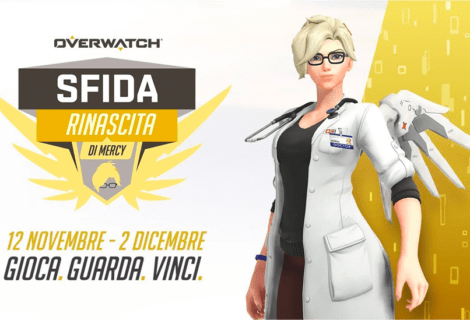 Overwatch: è ora disponibile l'evento Sfida Rinascita di Mercy