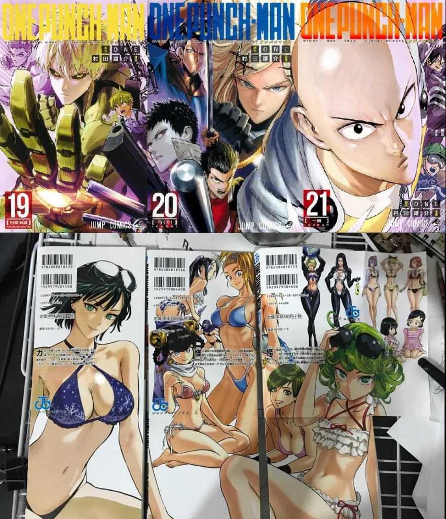 Il nuovo volume di One-Punch Man: la copertina in anteprima