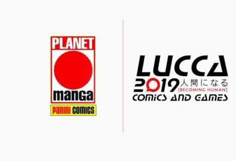 Planet Manga: le nuove uscite annunciate a Lucca Comics 2019