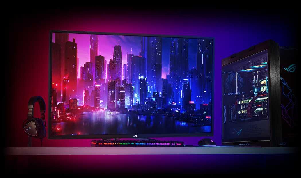ASUS ROG Strix XG438Q: il più grande monitor 4K FreeSync 2