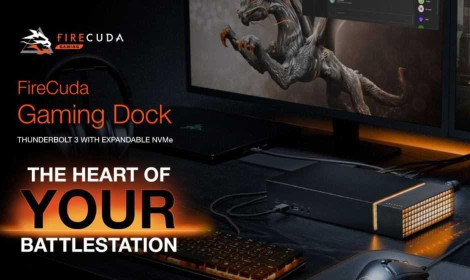 Seagate FireCuda: due nuovi SSD e una Gaming Dock