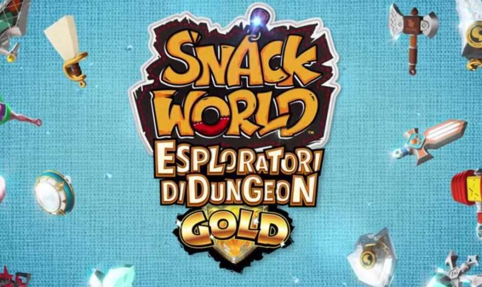 Snack World: Esploratori di Dungeon - Gold, arriva il trailer di lancio!