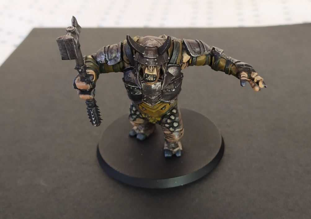 Come dipingere miniature Games Workshop - Tutorial 42: Troll di Mordor
