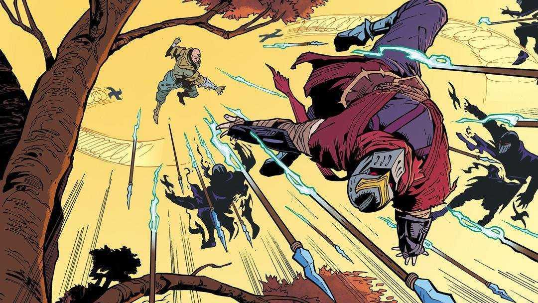 Zed, come non lo avete mai visto: il nuovo fumetto di Riot Games