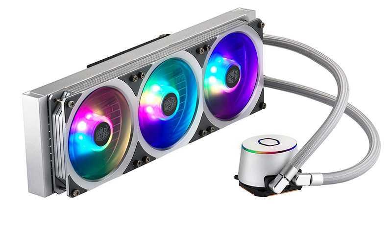 Cooler Master MasterLiquid ML360P: ecco la versione argento