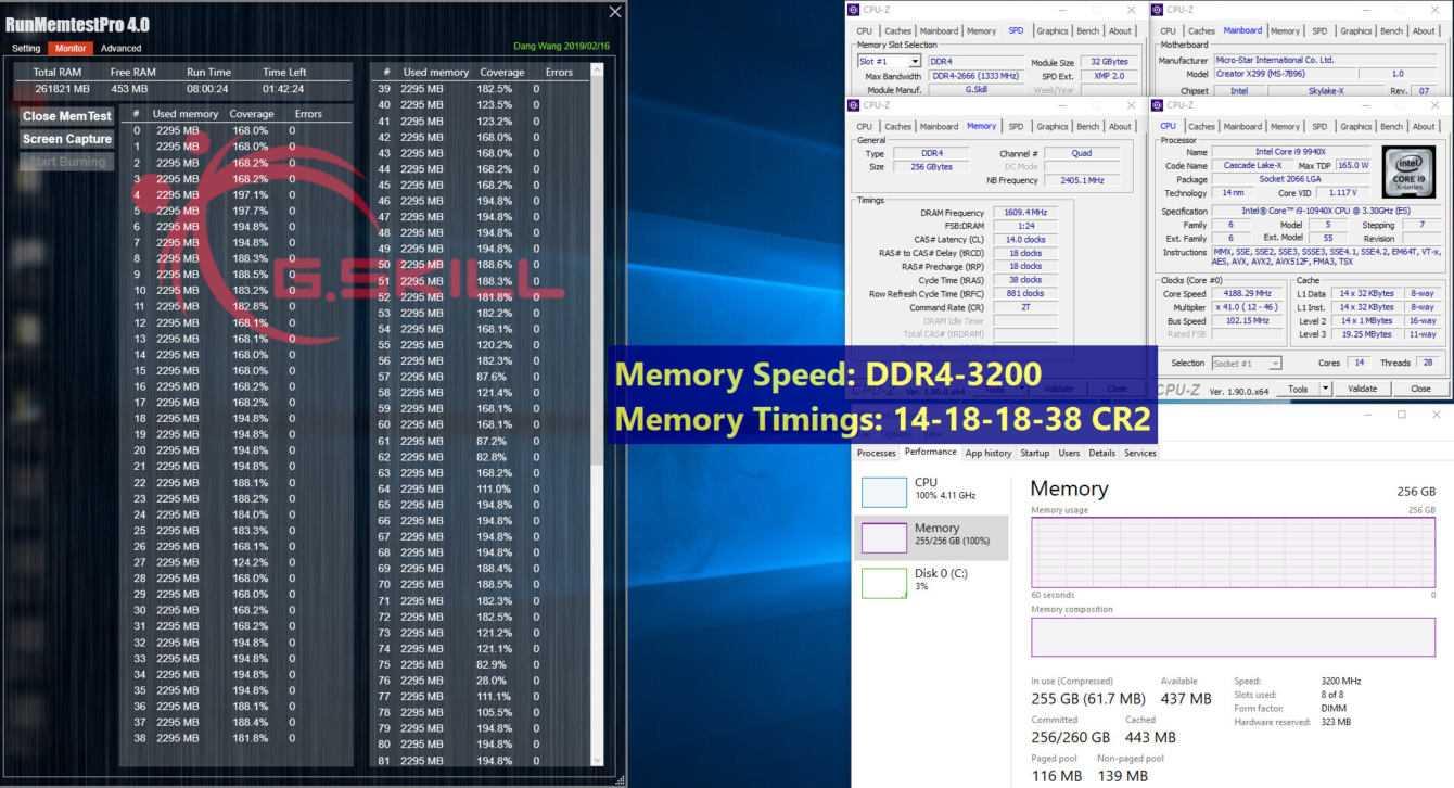 G.SKILL Ultra Low-Latency: ecco i nuovi moduli da 32 GB