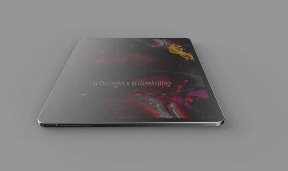 iPad Pro 2020: in rete un nuovo rendering