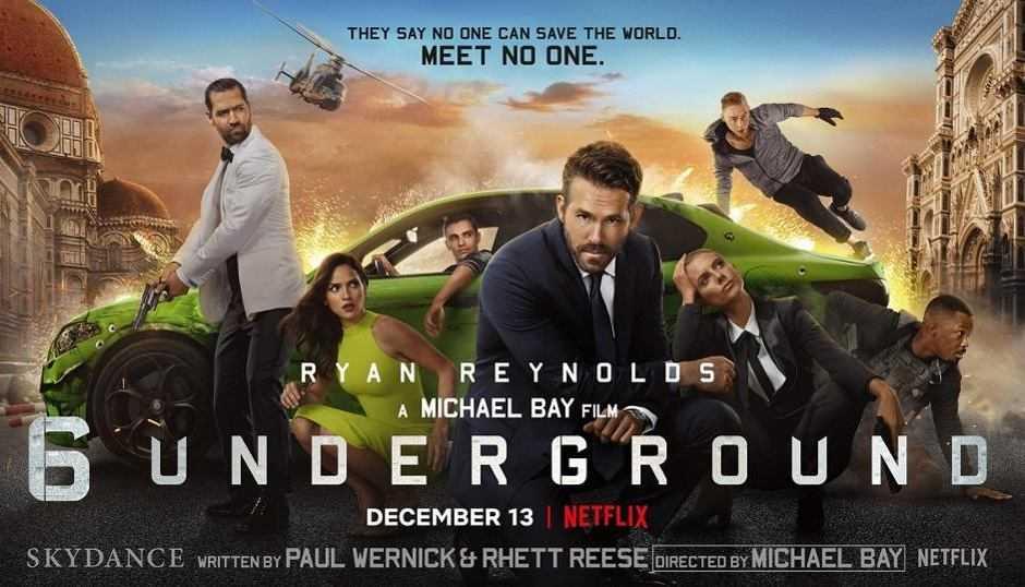 Recensione 6 Underground: uno spettacolo esplosivo
