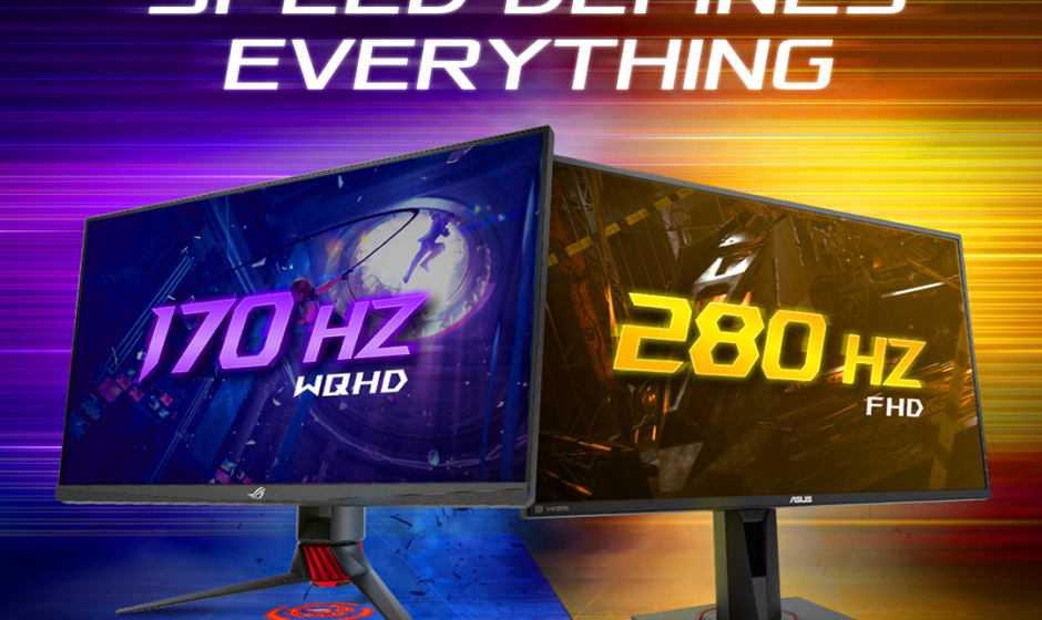 ASUS TUF Gaming: ecco i monitor gaming più veloci al mondo