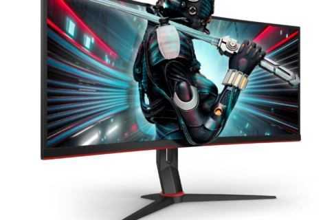 AOC CU34G2: nuovi monitor gaming curvi e ultra-wide
