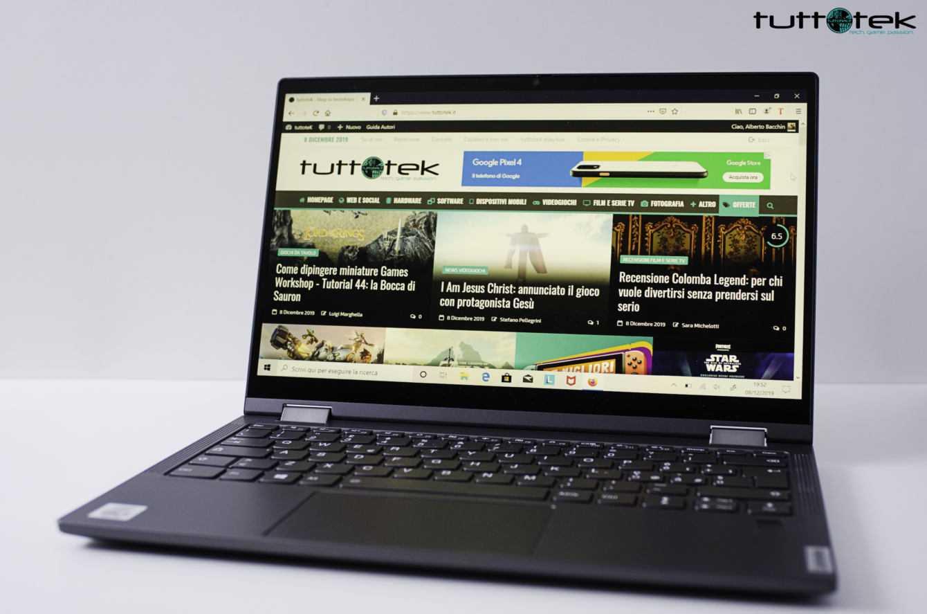 Recensione Lenovo Yoga C640: ottimo notebook per l'università