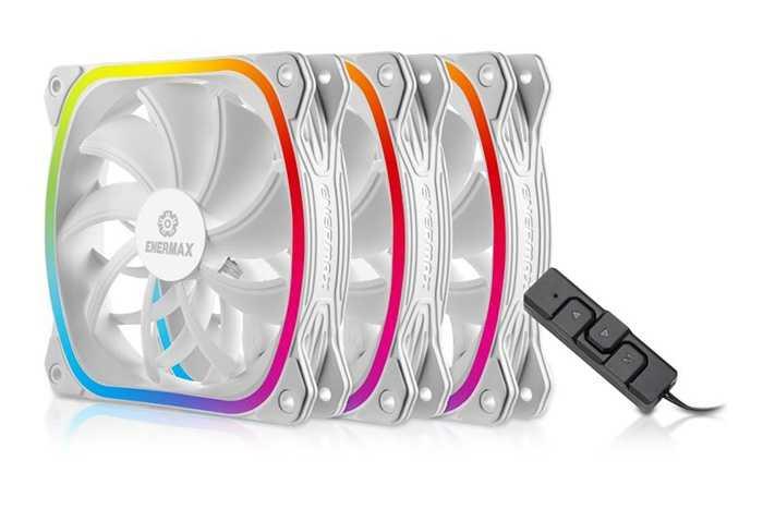 Enermax SQUA RGB: da oggi in versione bianca