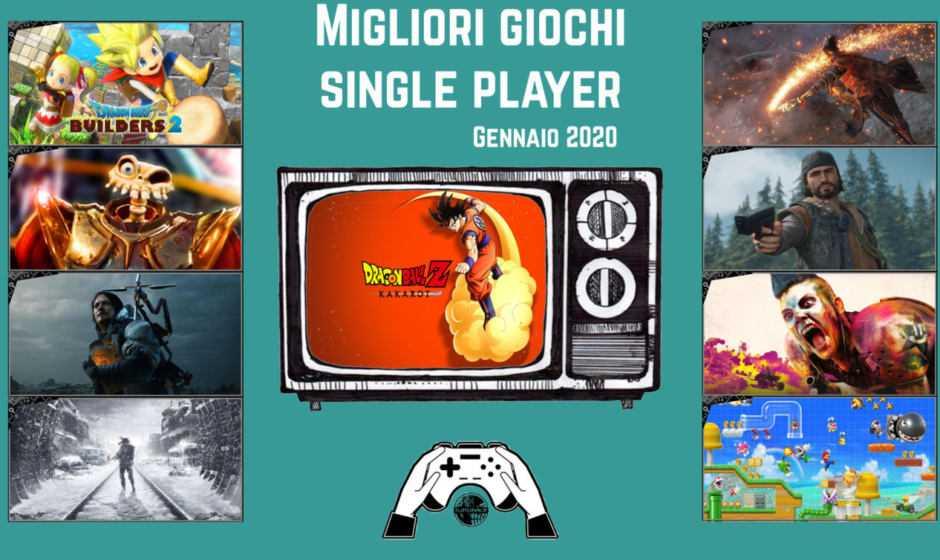 Migliori giochi single player | Gennaio 2020