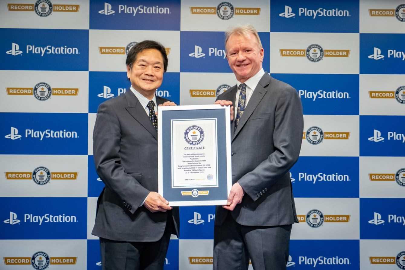 PlayStation: record mondiale come brand console più venduto di sempre!