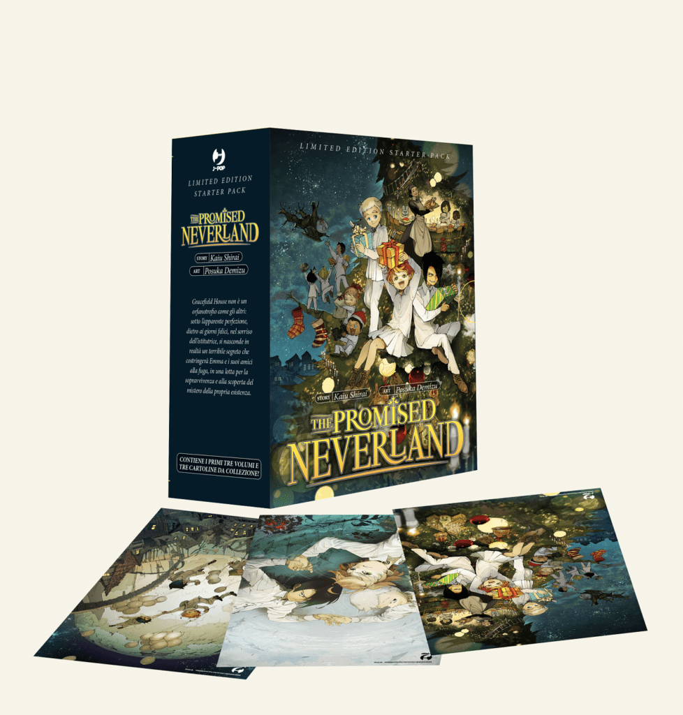 The Promised Neverland: il limited edition pack natalizio