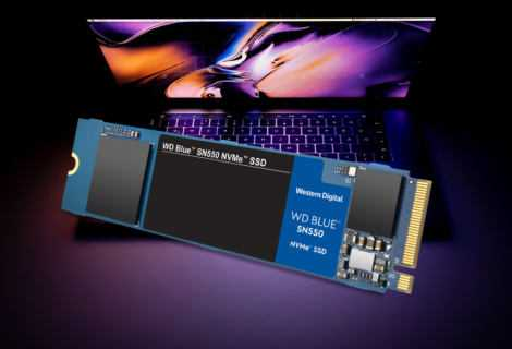 Western Digital presenta WD Blue SN550 NVMe SSD