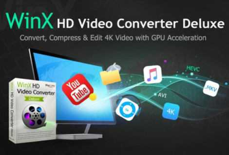 WinX HD Video Converter Deluxe: convertire video in 4K in qualsiasi formato