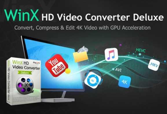 WinX HD Video Converter Deluxe: convertire video in 4K in qualsiasi formato