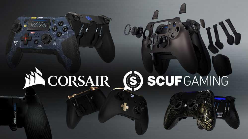 CORSAIR: ufficiale l'acquisizione di SCUF Gaming!