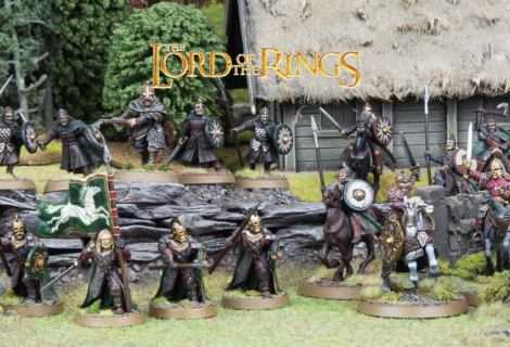 Come dipingere miniature Games Workshop - Tutorial 45: guerrieri di Rohan
