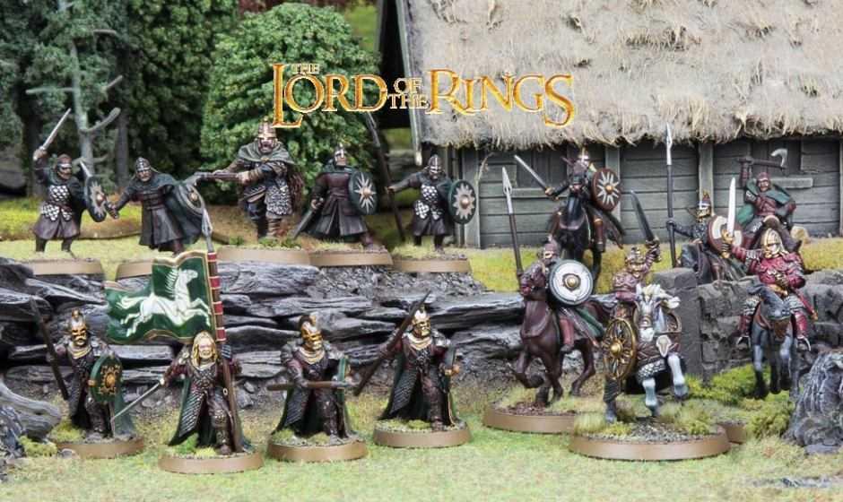 Come dipingere miniature Games Workshop – Tutorial 45: guerrieri di Rohan