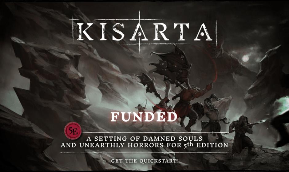 Kisarta: finanziato il kickstarter a solo un giorno dall'avvio