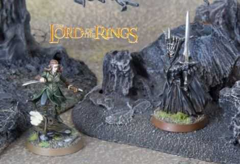 Come dipingere miniature Games Workshop - Tutorial 44: la Bocca di Sauron