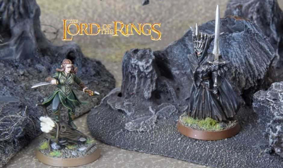 Come dipingere miniature Games Workshop – Tutorial 44: la Bocca di Sauron